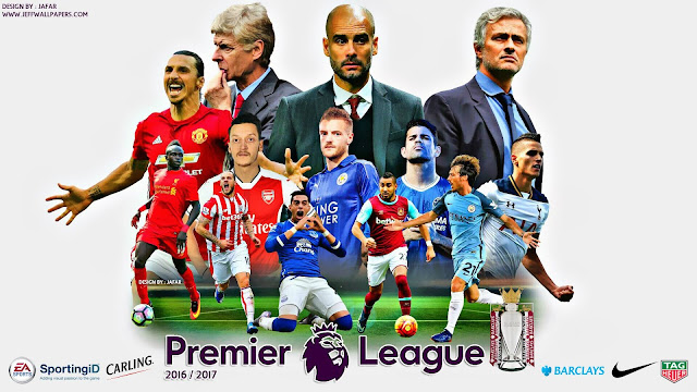 Premier League 2016/17: Resultados e classificação