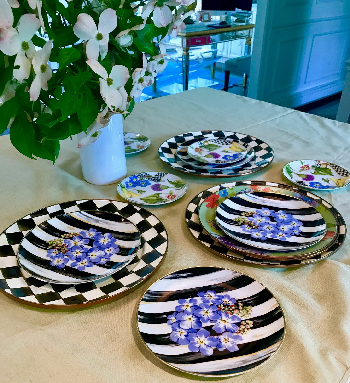 Thank you SO much to everyone at MacKenzie-Childs for this amazing opportunity! & The Most Beautiful Dinnerware and More From MacKenzie-Childs Summer ...