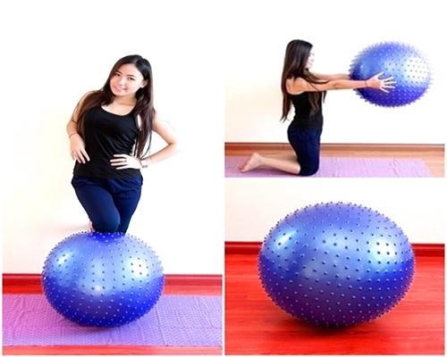 Bóng tập Yoga loại gai tập gym và vật lý trị liệu giá rẻ tại hà nội