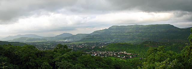 khopoli bird's eye view
