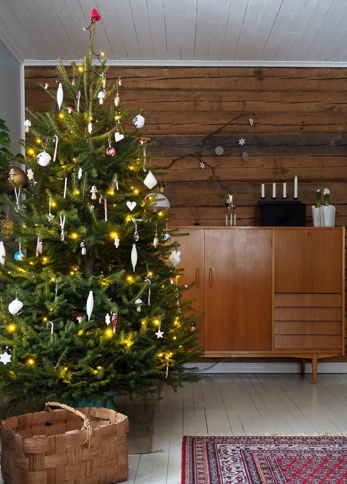 joulukuusi, olohuone