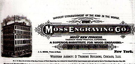 Moss Engraving Advertisement, ca. 1885. Courtesy of the Smithsonian Institution.