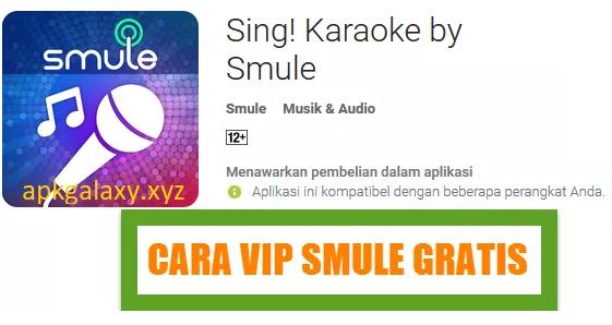 Sing Karaoke By Smule Apk Vip Gratis Terbaru