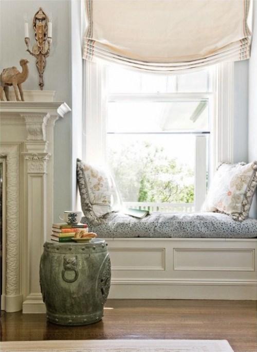 Shabby Chic Blog Window Seats