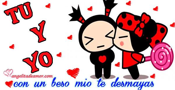 Imagenes De Amor De Pucca Y Frases De Amor