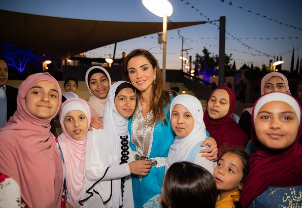 Iftar for at the Children's Museum in Amman
