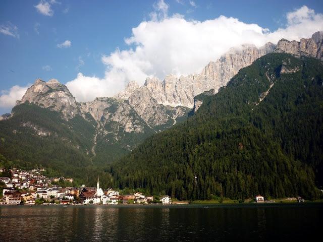 escursione al lago di alleghe