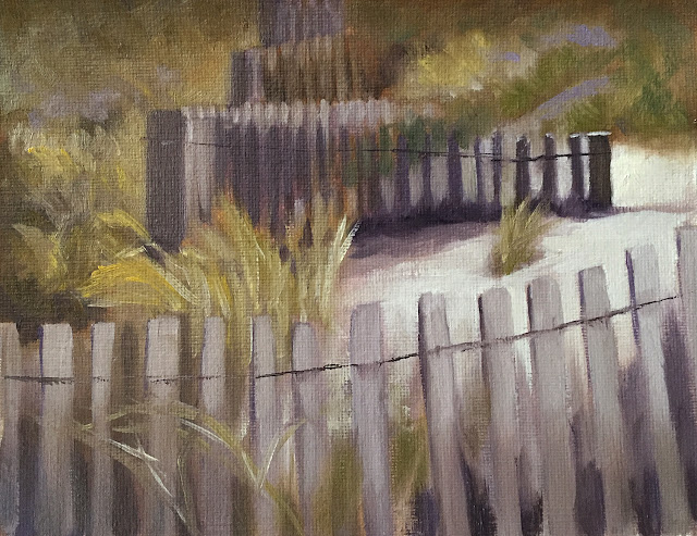focusing with value study of beach fence Feb-6-2019 after edits