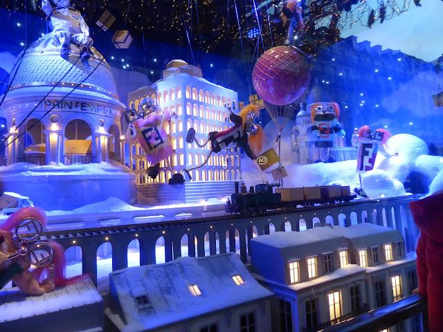 Vitrines de Noël à Paris