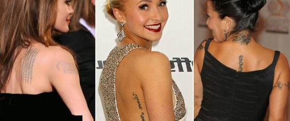 Tatuajes De Famosos El Ultimo Accesorio De Moda: LA VOZ DE CUCÚ: TATTOO FEVER