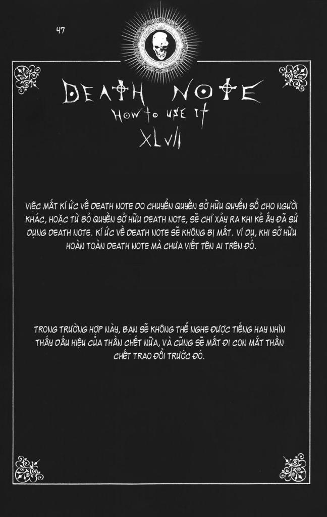 Death Note chapter 110 - how to use trang 50