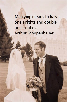 Arthur Schopenhauer Quotes on Marriage, Husband and Wife
