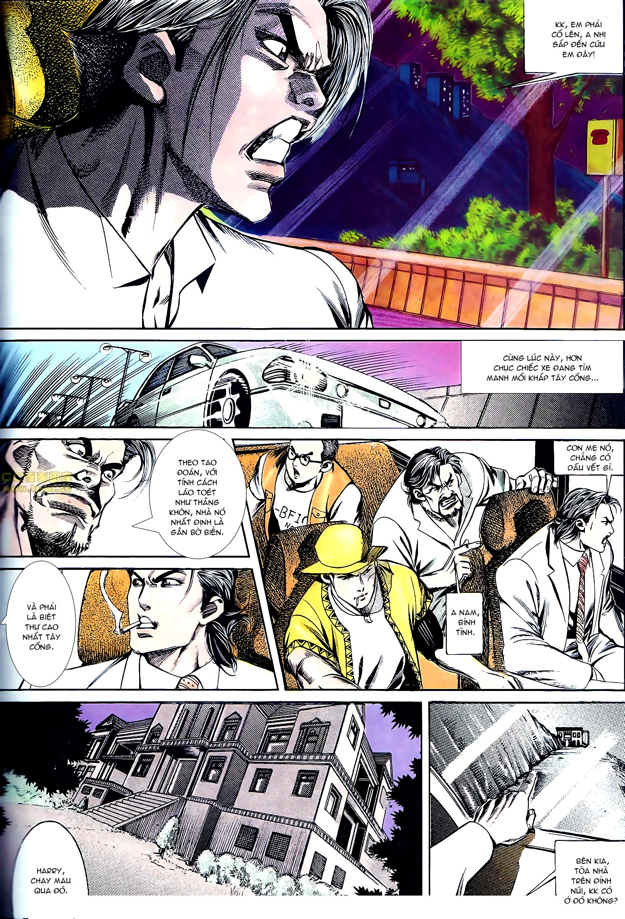 Người Trong Giang Hồ chapter 140: vây giết a khôn trang 12
