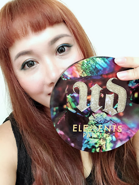 Urban Decay Elements 限量新品眼影盤