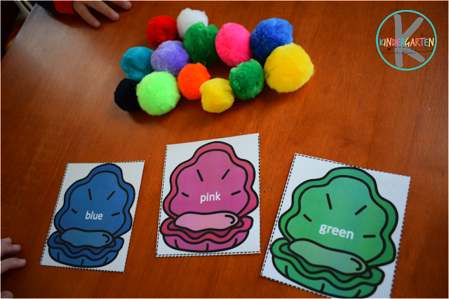 color matching activity for toddler, preschool, kindergarten