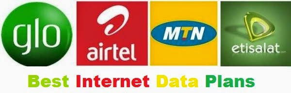mtn, glo, etisalat, airtel, internet data plans