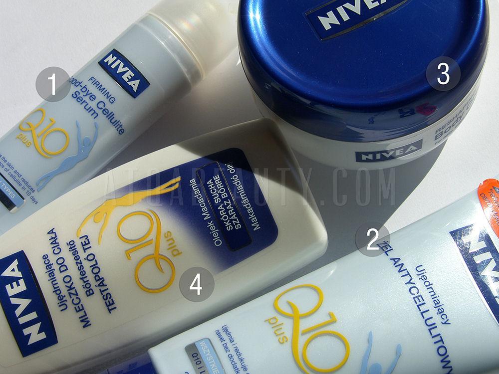 Pielęgnacja :: Seria NIVEA Q10 Plus do ciała – recenzje
