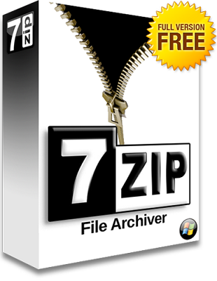 7-Zip 18.01 poster box cover