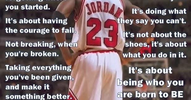 Michael Jordan Powerful Words  Picture Edition  Motivate