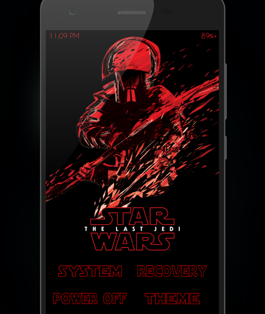 Star War TWRP For WE T1 - MT6580