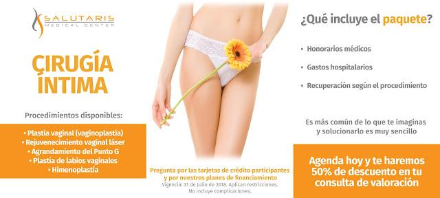Paquetes cirugia intima Guadalajara Mexico