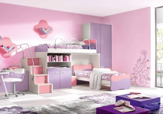 How To Design Bedroom Girls