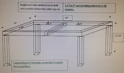 Welding Table Plans Or Ideas