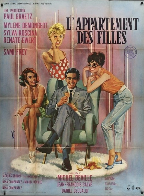The S Apartment L Artement Des Filles Is A Lightweight 1963 French Comedy Combined With Crime Thriller Something That I