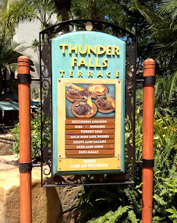 Thunder Falls Terrace at Universal Orlando