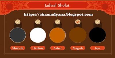 JADWAL SHOLAT HARI INI (JADWAL SHOLAT SEKARANG ...