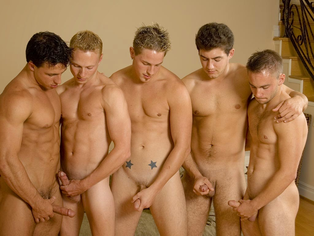 Nude Group Male
