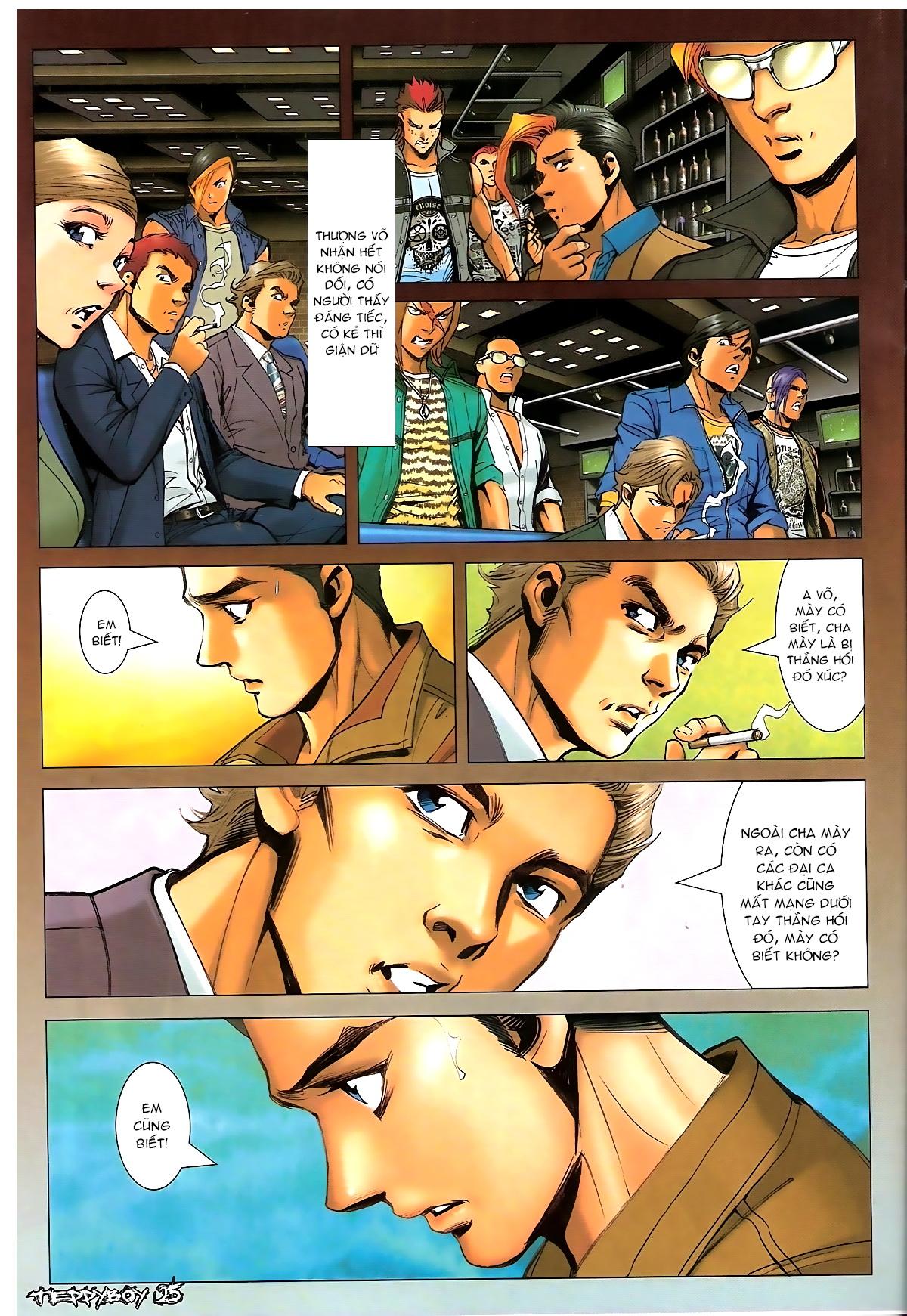 Người Trong Giang Hồ - Chapter 1321: Con trai Chó Xám - Pic 21