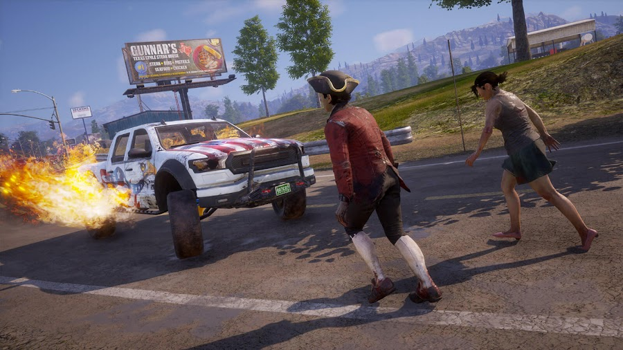state of decay 2 independence day vehicle