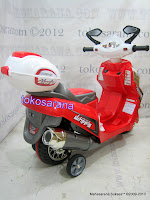 Motor Mainan Aki Junior YLQ2288 Vario L