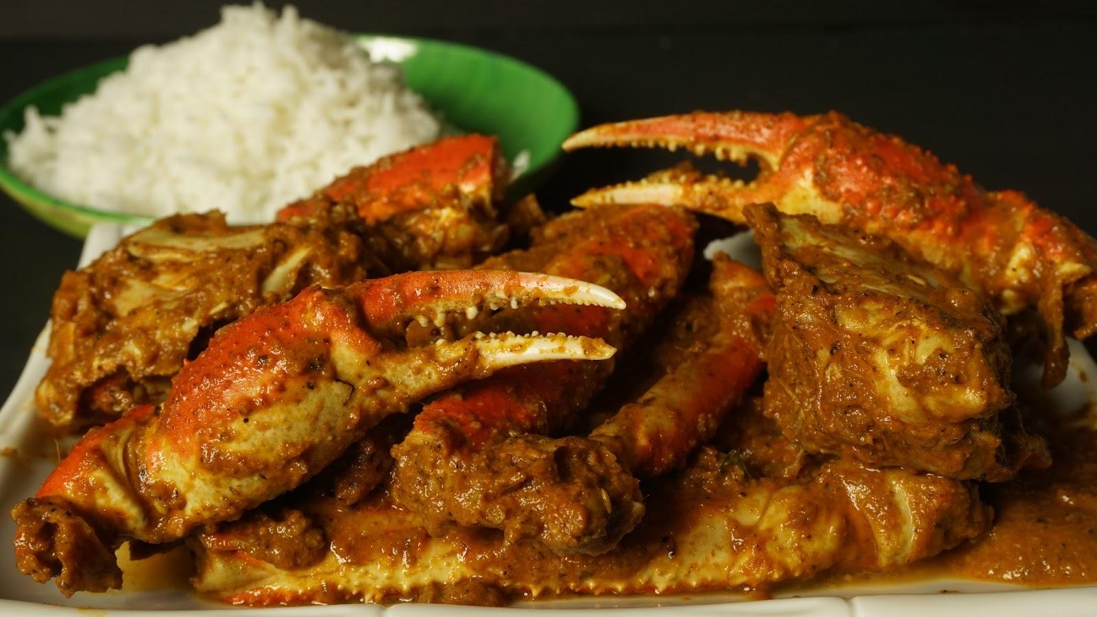Crab Curry Recipe Steffi S Recipes