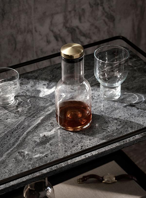Eleganckie szkło na alkohol