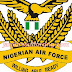 20116/2017 Nigerian Air Force Recruitment Form - www.careers.nigerianairforce.gov.ng