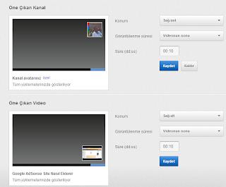 YouTube Videolarınıza Logo Filigran Özelliği