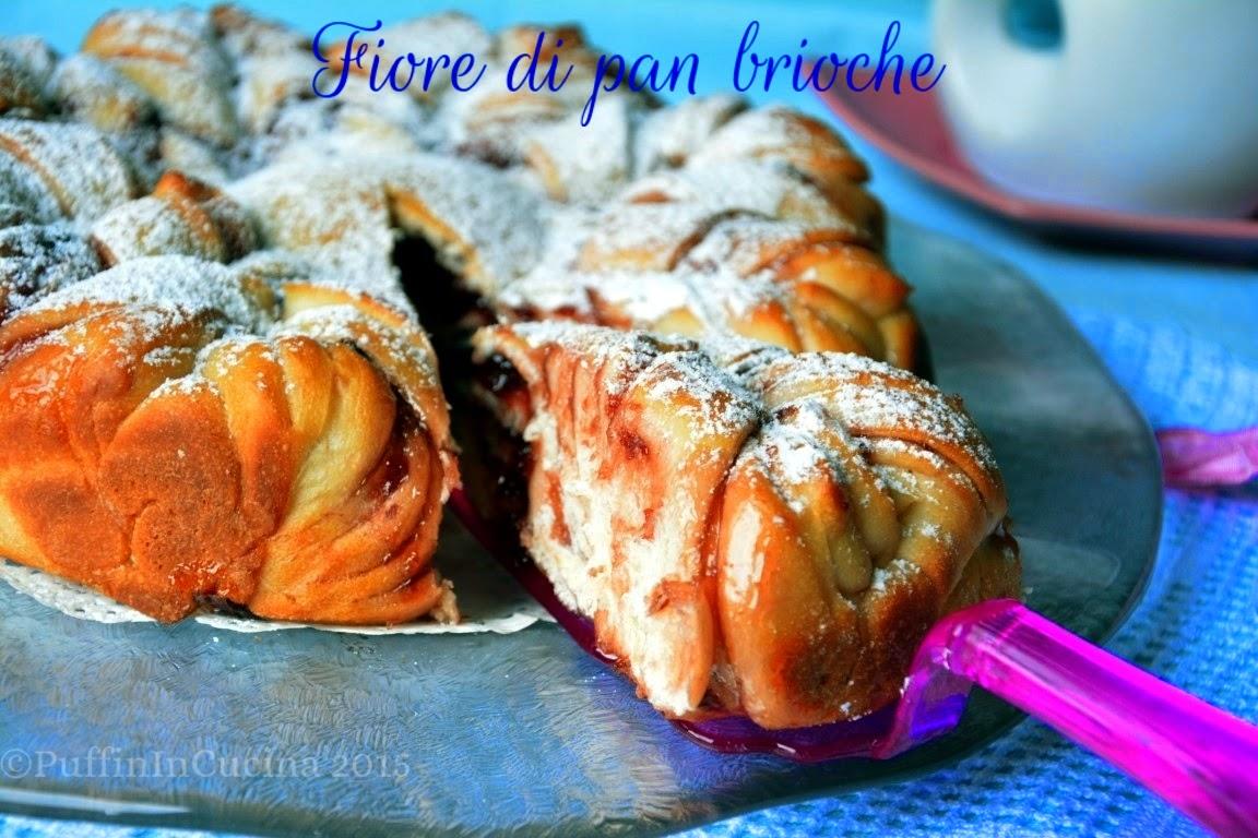 Super Fiore di pan brioche con lievito madre senza burro e senza uova  AE15