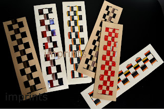 Woven bookmarks
