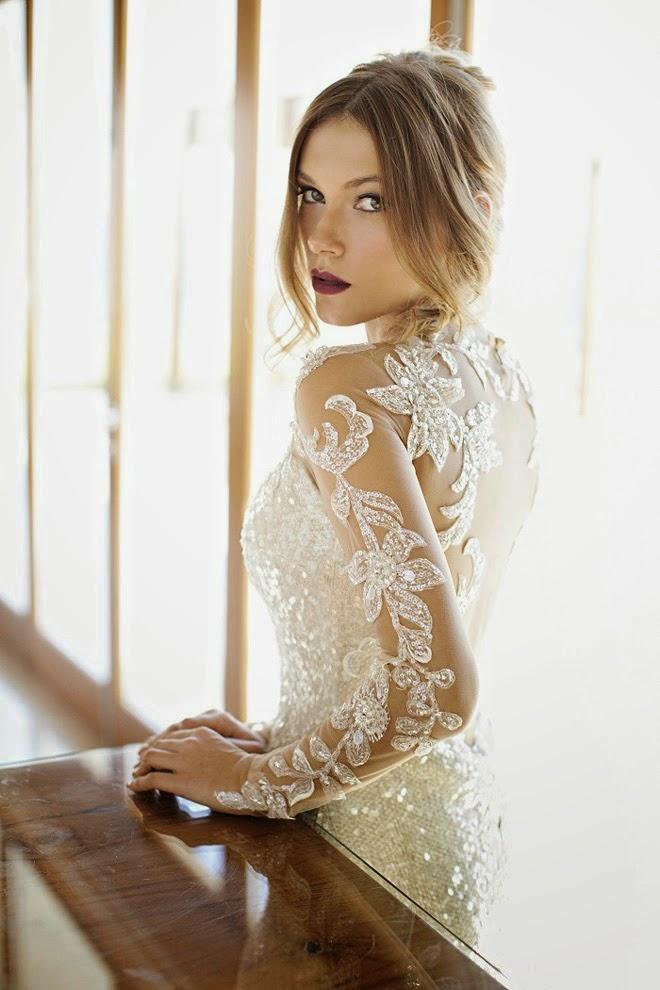Winter Wedding Dresses - Belle The Magazine
