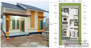 Gambar Rumah Minimalis Ukuran 6x11 3 Kamar Tidur Desain Rumah Minimalis