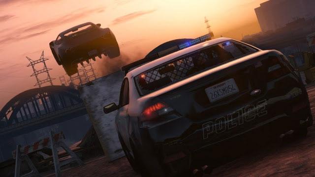 GTA 5 Improved Cops