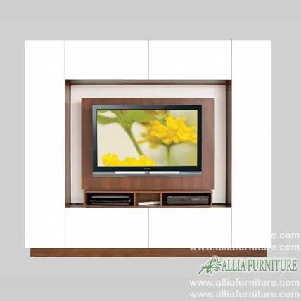 lemari tv lcd minimalis model born
