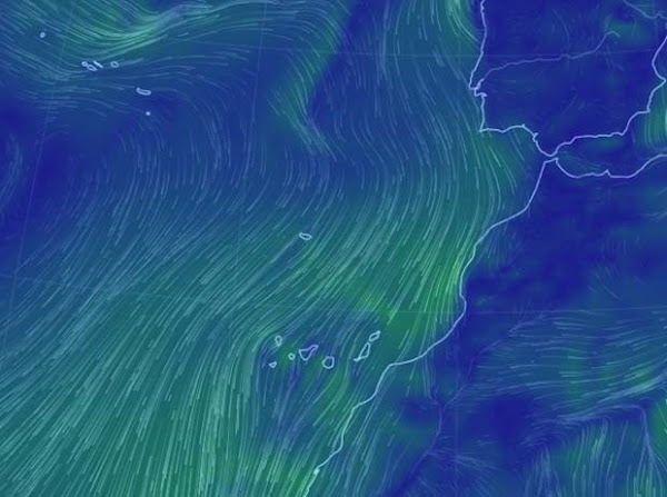 Bajan  temperaturas y viento en Canarias, 26 junio