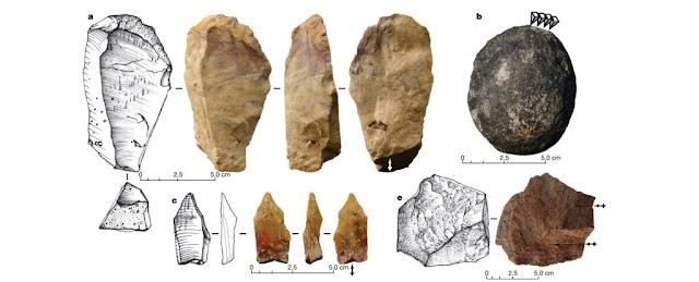 (Ingicco et al./Nature) Stone tools.