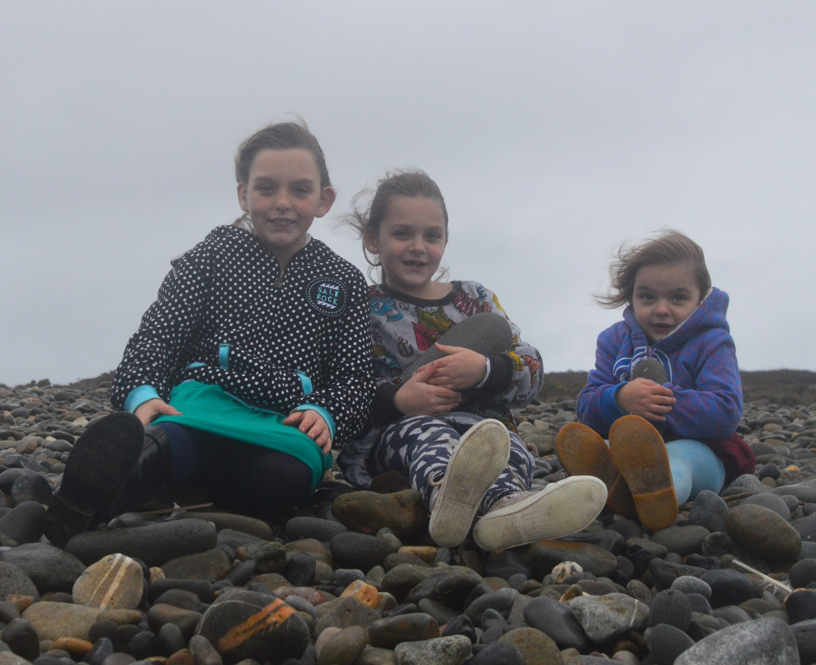 Outdoors family on beach in Winter #saltrocksoul