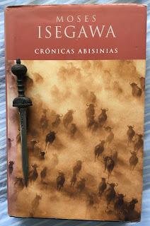 Portada del libro Crónicas abisinias, de Moses Isegawa