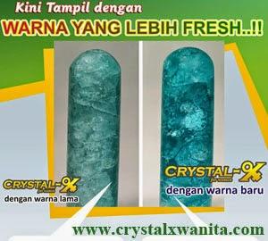 Warna dan Tekstur Crystal X Terbaru