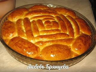 приготовить пирог зеленым луком яйцом